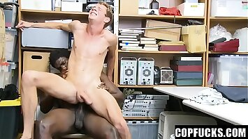 Twink Is Caught On Security Cameras Stealing Items From The Store - Cameron Taylor, Devin Trez