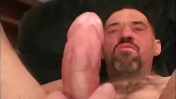 Hairy Worker Daddy strokes his meat- RoughHairy.com